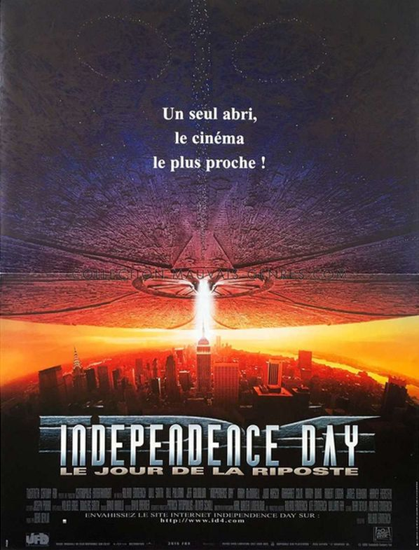 Affiche independence day a will smith roland emmerich