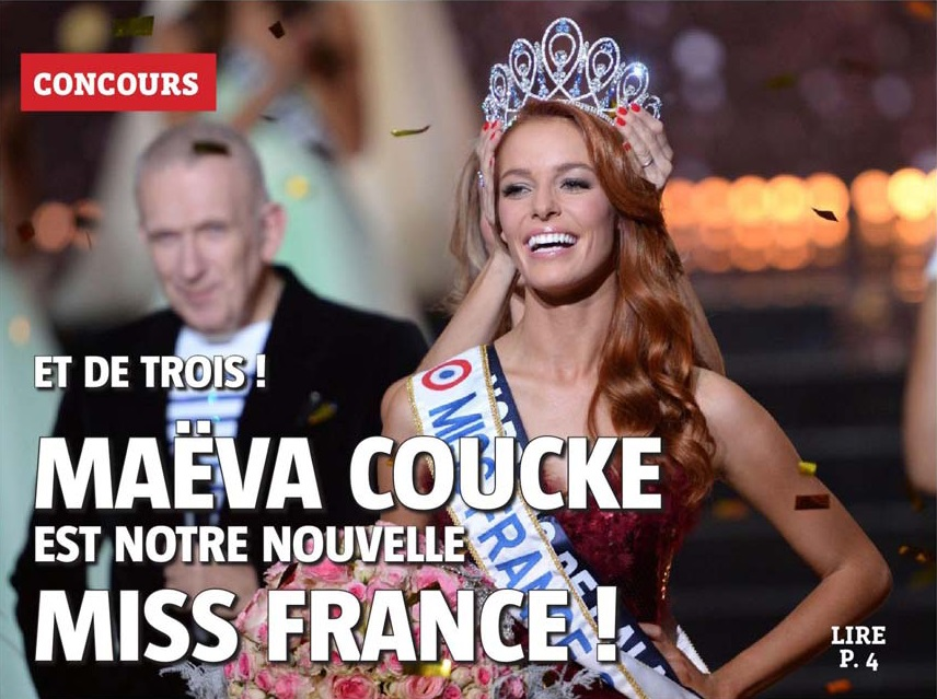 20171217 Portrait Miss France VdN revue de presse