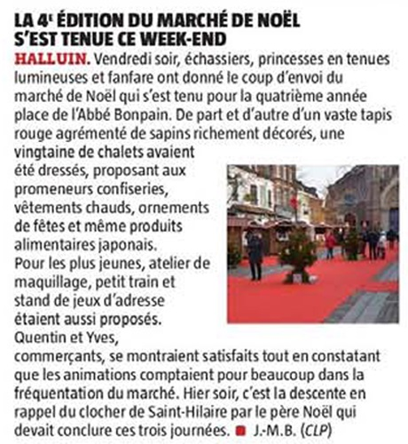 20181217 March de Nol VdN revue de presse